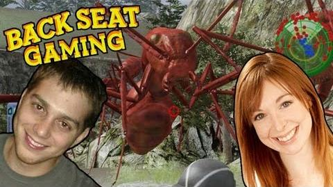 GIANT ANTS w LISA FOILES! (Backseat Gaming)
