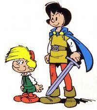 Johan and Peewit Comic Book