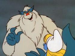 Snowbeast smurf Image