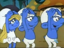 Sign For Smurf