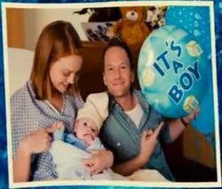 Blue With Parents