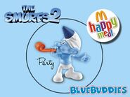 The Smurfs 2 happy meal party planner