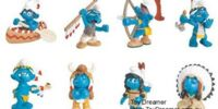 2007 Smurf figurines