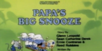 Papa's Big Snooze