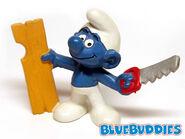 20112 Carpenter Smurf