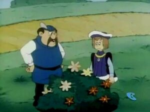 King Gerard and Sir Leopold in the Gardens - Smurfs
