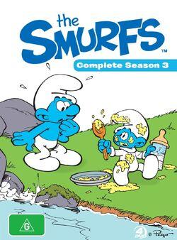 SmurfsCompleteSeason3DVDcover