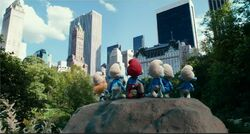 Smurfs In New York City