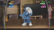 Smurfs dance party higher