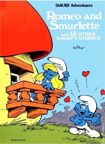 File:Romeo And Smurfette Comic.jpg