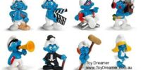 2009 Smurf figurines