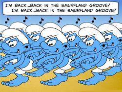 Dance Of 100 Smurfs