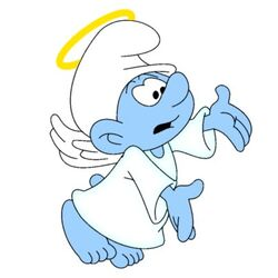 Angel Smurf Hero Stories