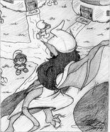 Mystico Returns Sketch