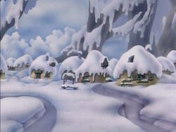 Snow Covered Village 2