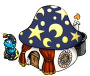 Magician Smurf