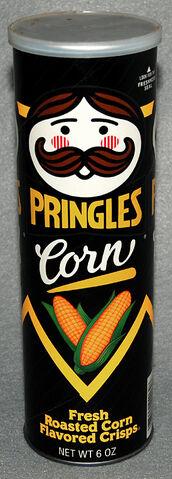 File:Pringles Corn Crisps canister 1993.jpg