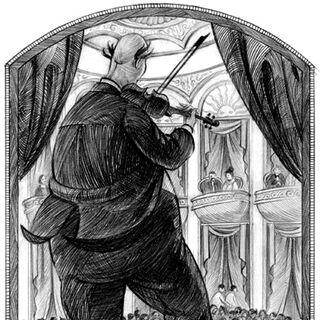 Vice Principal Nero's daily violin recital