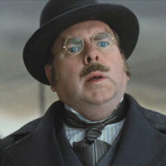Mr. Poe in the film, portrayed by Timothy Spall.