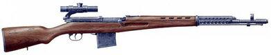 SVT-40 Sniper