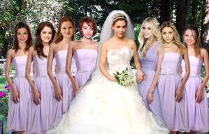 Alyssa's wedding party