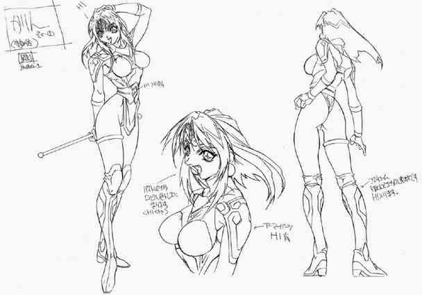 File:Anime sketch Karin 2.jpg