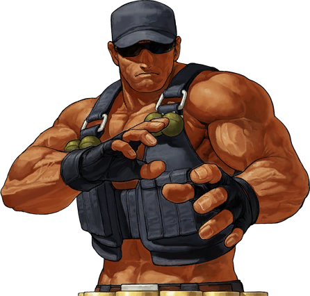 File:KOFXII-Clark-CharacterSelect.png