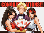KOF2003-WomenFightersTeam