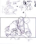 KingofDinosaurs-winpose-sketch2