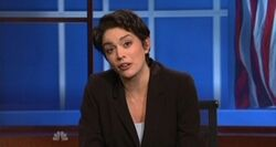SNL Cecily Strong - Rachel Maddow