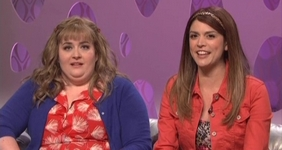 File:SNL Aidy Bryant - Morgan; Cecily Strong - Kyra.jpg