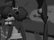 Mouse Tails and Wonder Mouse at Evil count Fishly Island