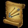 Good-HeroGearRecipe-Crossbowman-TripleShot-LessBonusMoreAoE-Icon