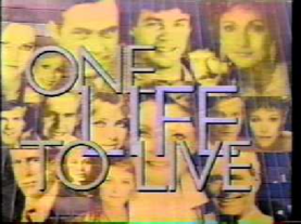 One Life to Live 1984 title card