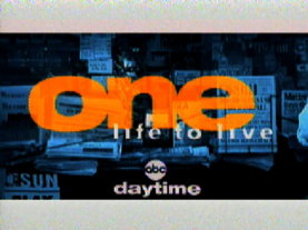 One Life to Live 1995 title card