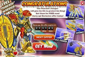 Pharaoh Mech Offer