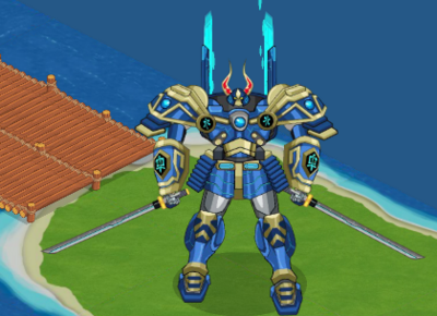 Great Shogun Mech