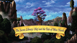 The Secret Library - Olaf and the Tale of Miss Nettle