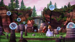 Bubble field