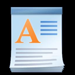File:WordPad logo.png