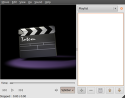 Totem 2.26.1-Linux Ubuntu GNOME