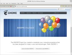 Epiphany 3.0.0-GNOME 3.0-Fedora 15