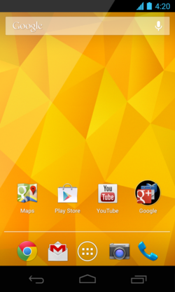 Android 4.2-Nexus 4