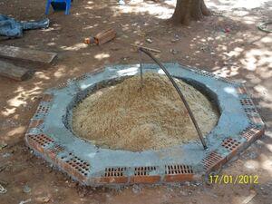 Kern aus Sand