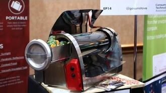GoSun Solar Stove Gets Cooking