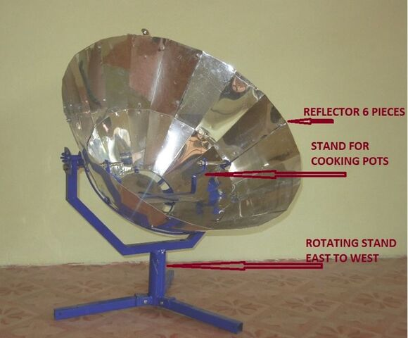File:Parvati Solar Cooker improvements, 11-18-13.jpg