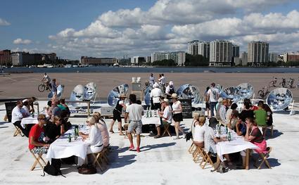 Solar Kitchen Restaurant, Finland, 1-6-15