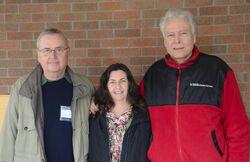 Julie Greene, Tom Sponheim, Paul Hedrick atthed ETHOS 2013, 1-27-13