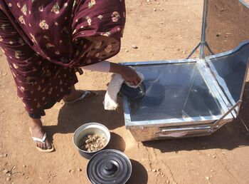 Mawahib Ahmed cooking photo