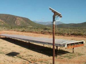 Solar Tunnel Dryer, 9-20-14